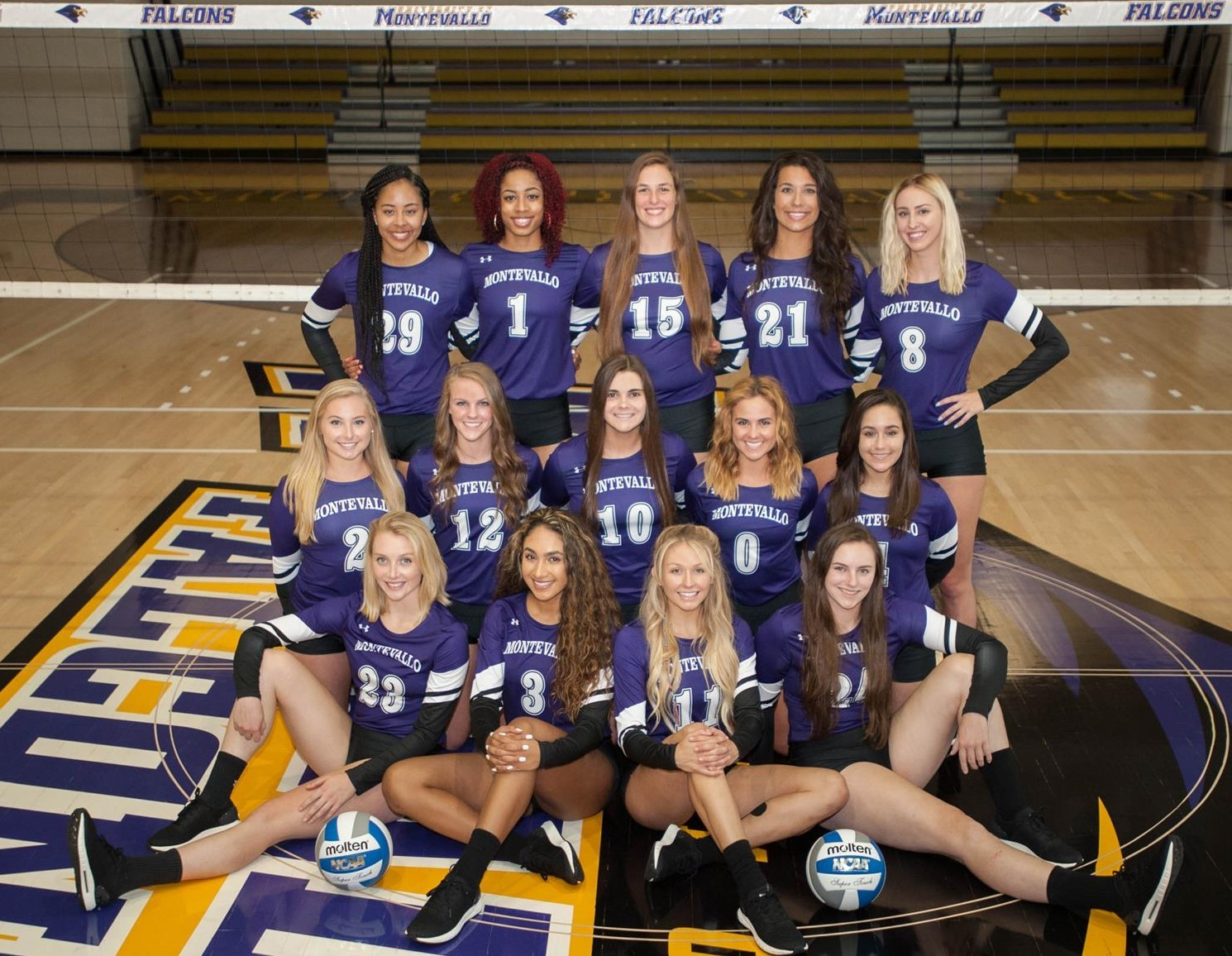 a7b3363319d 2018 Women s Volleyball Roster - University of Montevallo Athletics